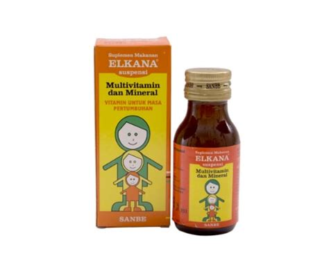 Vitamin Elkana 10 Merk Vitamin Penambah Nafsu Makan Anak Dewasa