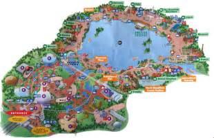 map of epcot florida epcot
