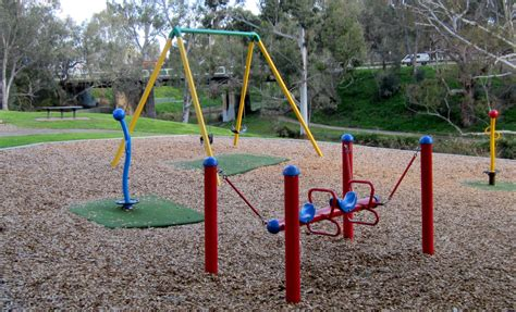 park swings dunstan adventure playground adelaide