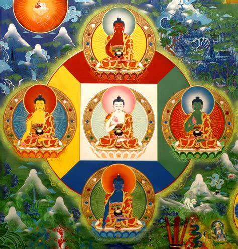 Zen Meditation Room the mandala of the five dhyan buddhas unbornmind zen