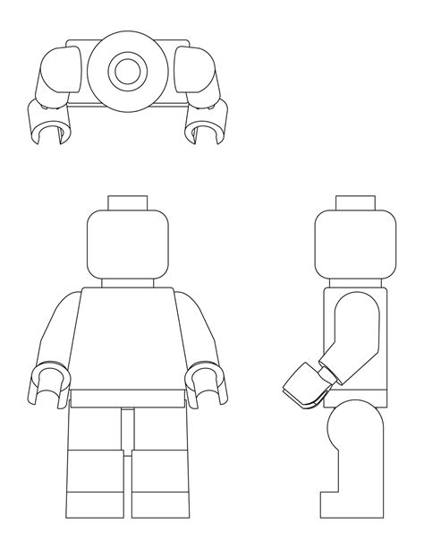 lego minifigure template the gallery for gt lego minifigure printable template