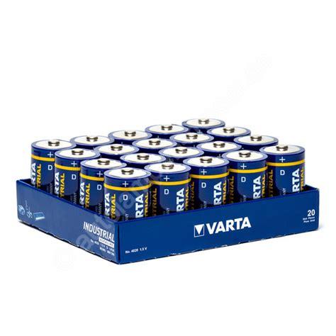 Motorrad Batterie 9v by 20x Mono D Lr20 Batterie Alkaline Varta Industrial