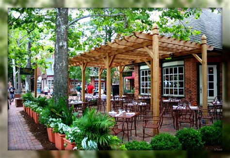 patio trellis living in williamsburg virginia the trellis restaurant