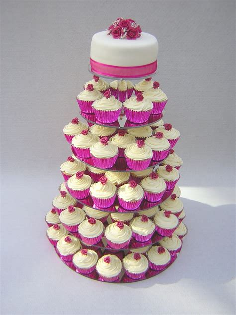 Wedding Cake With Cupcakes by Cupcake Wedding Cakes Julie S Creative Cakesjulie S