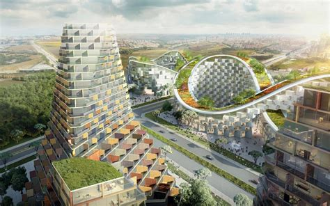 Appartments In Turkey by Istanbul Summits Housing Development By Julien De Smedt