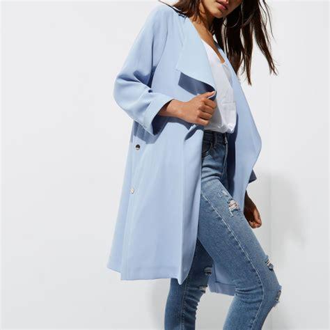 light blue coat womens petite light blue duster coat coats jackets sale women