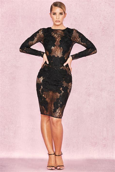 Dress Black Lace Cliona Limited clothing dresses nolita black stretch lace
