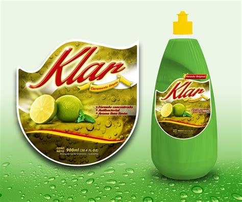 label design for dishwashing liquid upmarket professional label design for 4e de mexico s a