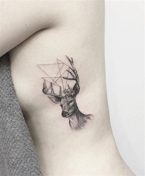 45 inspiring deer tattoo designs deer tattoo side