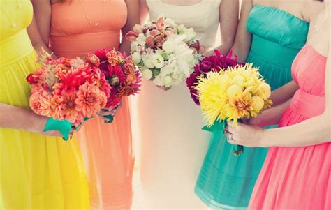 Traveling Shoes Rainbow colorful bridesmaids for a rainbow wedding