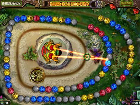 zuma s zuma s revenge review pc game review myplaycity com