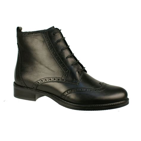 tamaris 25120 s black boots free delivery at shoes