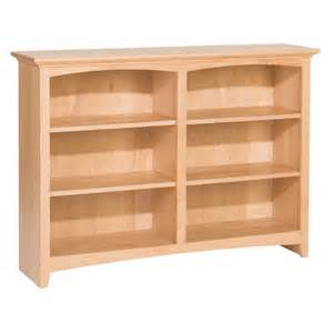 whittier wood mckenzie bookcase collection 48 quot wide acri tec 21070 platinum collection under mount small