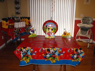 Handmade Mickey Mouse Decorations - where the walnut trees grow mickey mouse clubhouse