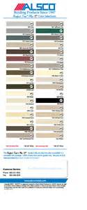 norandex siding colors norandex color chart the gutter company