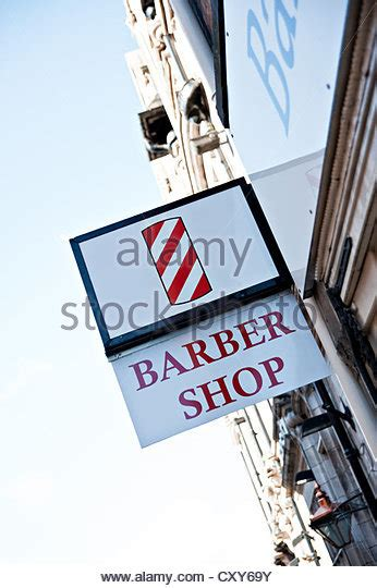 barber glasgow mt barbers sign stock photos barbers sign stock images alamy