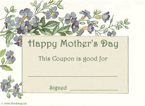 Coupons Early Play Templates S Day Coupon Template