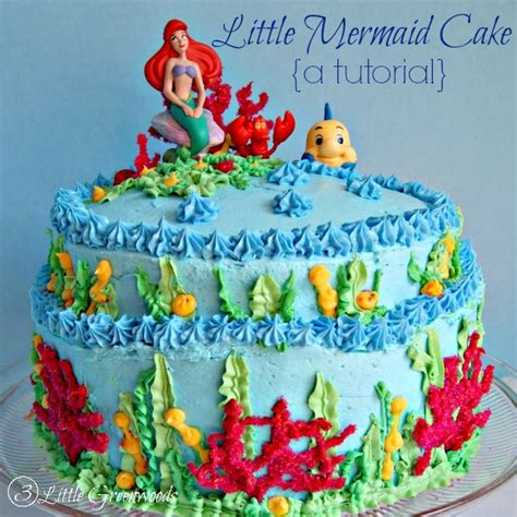 Window Gardening by How To Make A Little Mermaid Birthday Cake 3 Little