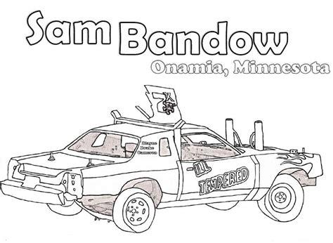 coloring pages demolition derby cars demolition derby car clipart clipartsgram