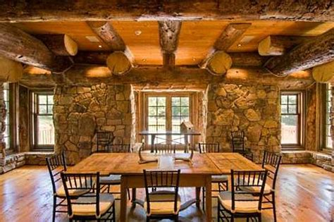 Cottage Kitchen Backsplash Ideas by Log Cabin Interior Design An Extraordinary Rustic
