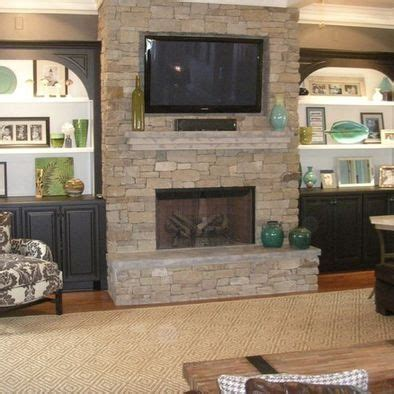 Built In Tv Cabinet Fireplace by Spaces Built In Tv Cabinets Design Pictures Remodel Decor And Ideas Page 79 For The Home