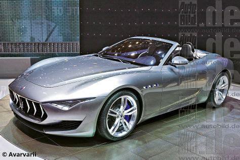 2019 Maserati Alfieri Cabrio by Maserati Alfieri Spyder Italienische Offenbarung