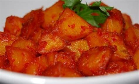 resep membuat kentang goreng balado resep masakan kentang bumbu balado pedas enak dan gurih