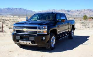 2016 chevrolet silverado 2500hd high country review the ignition