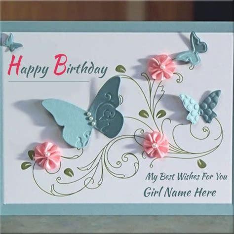 Handmade Birthday Cards For Friends - handmade birthday cards for friends with name