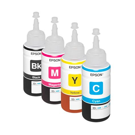 Tinta Botol Epson Original 70 Ml Serie L jual epson t6641 t6644 cmyk set tinta for printer l