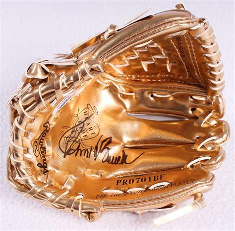 johnny bench gold gloves online sports memorabilia auction pristine auction