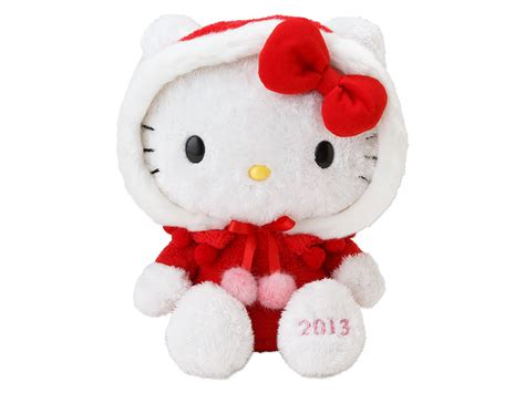 kitty christmas plush doll 2013 sanrio japan box