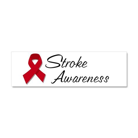 stroke awareness color stroke awareness car magnet 10 x 3 by apsfoundation