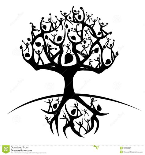 Tree Of Life Stock Vector Illustration Of Symbol Grow 18184847 Royalty Free Family Tree Clip Vector Images Illustrations Istock