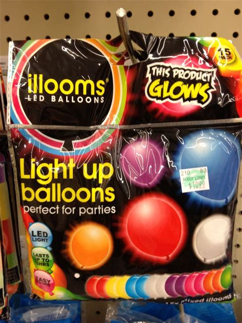 led light up balloons walmart perfect for glow in the dark party hobby lobby kiarra s