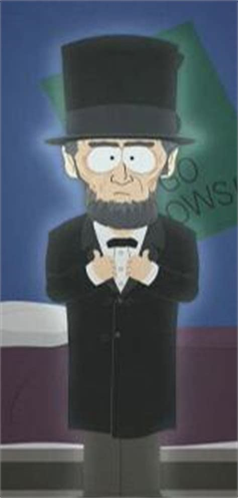 abraham lincoln south park archives cartman stan