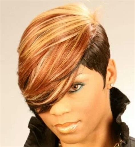 27 pc black hair styles mohawk 112 best images about short weave styles on pinterest