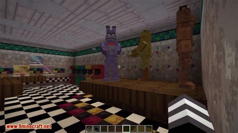 Pdf Five Nights At Minecraft 1 by Five S At Freddy S Universe Mod 1 7 10 Miinecraft Org