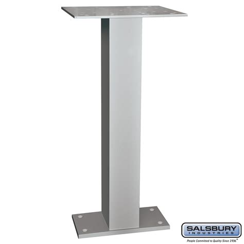 Mailbox Pedestal salsbury industries 3285 universal pedestal replacement for ndcbu pedestal style mailboxes