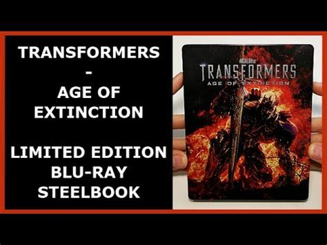 unboxing annie 2014 film version blu ray youtube transformers age of extinction limited debossed blu