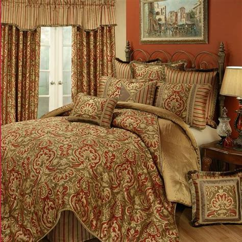 the home decorating company shop austin horn botticelli bed sets red the home