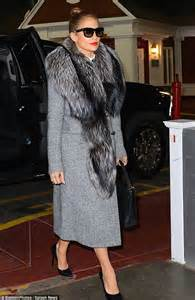 Careys Fur Coat Is Lost In The Mail by Clears The Air About Spat Between And