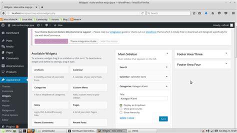 membuat toko online di linux cara membuat toko online diwordpress nurul af idah