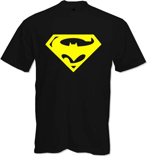Batman Superman Tshirt superman batman combined quality t shirt