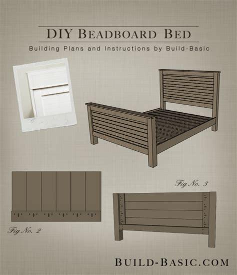 beadboard headboard plans build a diy beadboard bed build basic