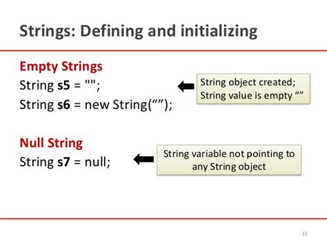 how to declare string in java introduction to java strings by kavita ganesan