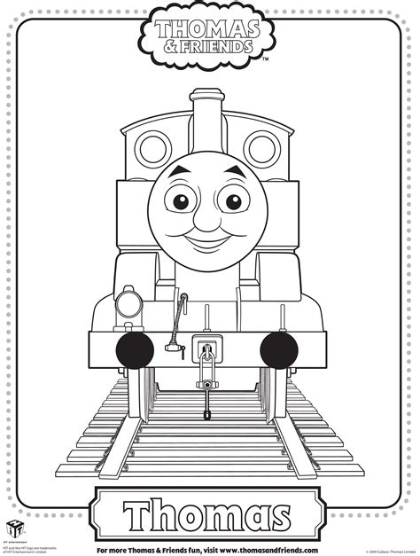 The Engine Coloring Pages