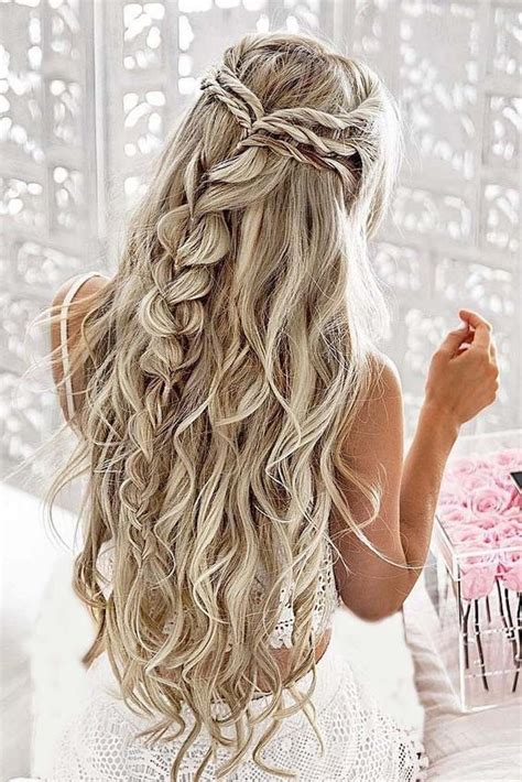 Braided Hairstyles For With Hair by 10 Pretty Braided Hairstyles For Wedding Wedding Hair