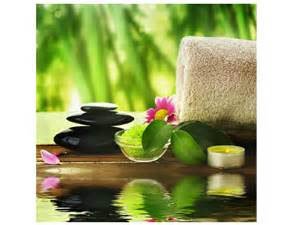Relaxing Color Relaxing Massage Picture Poster Massage Spa Equipment Supply