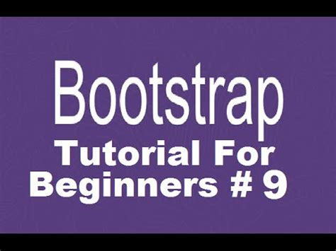 bootstrap tutorial in urdu youtube bootstrap tutorial for beginners 9 creating responsive